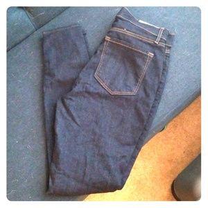 LOFT Blue Denim Leggings